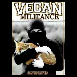 Vegan militance saves lives