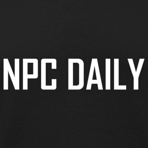 N P C Daily Full Logo - Men's Premium Tank