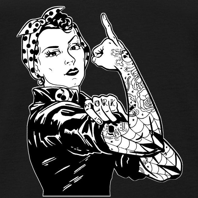 Tattooed Worker