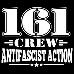 161 crew. Antifascist action