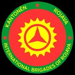 Kantonên Rojava. International brigades of Rojava
