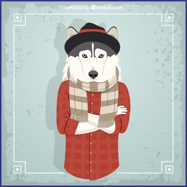 Hispter Dog