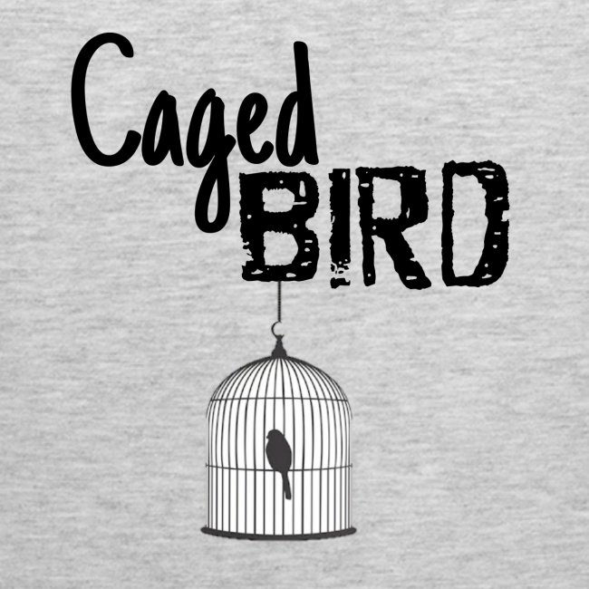 """Caged Bird"" Abstract Design"