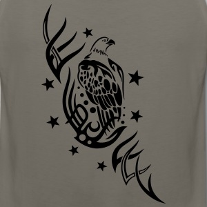 Eagle with tribal and stars. - Men's Premium Tank