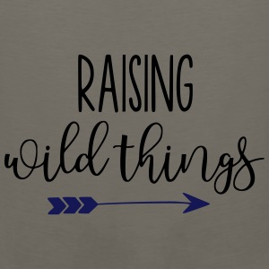 Raising Wild Things Mom Life - Men's Premium Tank