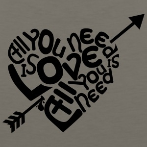 All you need is love, love is all you need - Men's Premium Tank