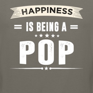 Happiness Is Being a POP - Men's Premium Tank