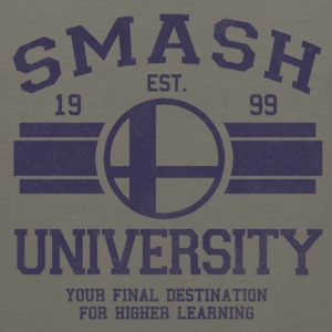 Smash University Logo - Men's Premium Tank