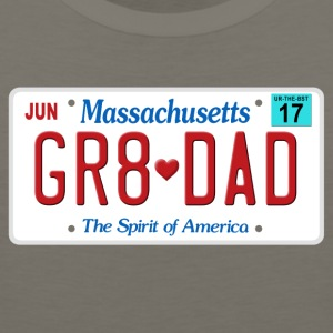 Great Dad - Happy Father's Day - Massachussetts - Men's Premium Tank