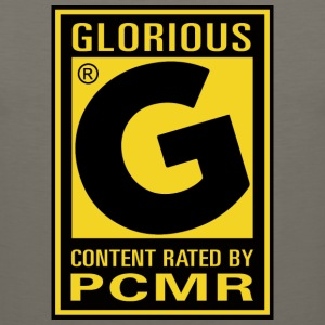 Content Rated Glorious by PC Master Race T Shirt - Men's Premium Tank