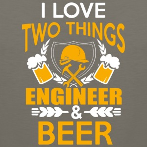 ENGINEER AND BEER T Shirt - Men's Premium Tank