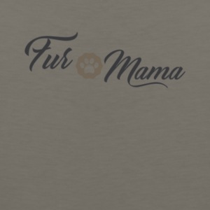 Fur Mama Cute Pet Owner Tee Shirt - Men's Premium Tank