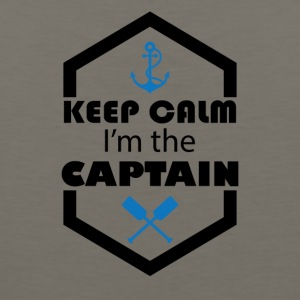 Keep Calm I'm The Captain Tee Shirt - Men's Premium Tank