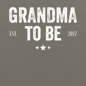 Grandma to be est 2017 - Men's Premium Tank