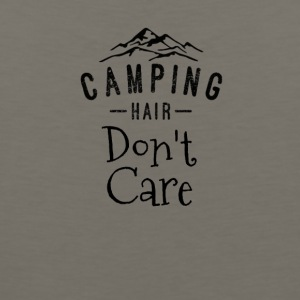 Camping Hair Don't Care - Men's Premium Tank