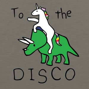 Unicorn Disco Jump - Men's Premium Tank