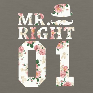 Mr. Right 01 - Men's Premium Tank
