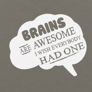 Brains are Awesome - Men's Premium Tank