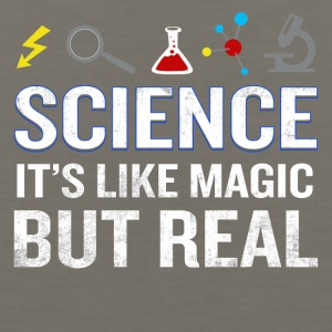 Science It's Like Magic But Real Funny Quote - Men's Premium Tank