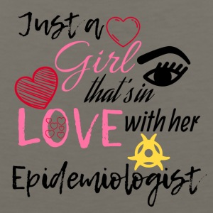 Just a girl that's in love with her Epidemiologist - Men's Premium Tank