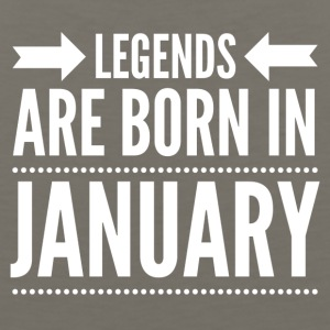 Legends Born January - Men's Premium Tank