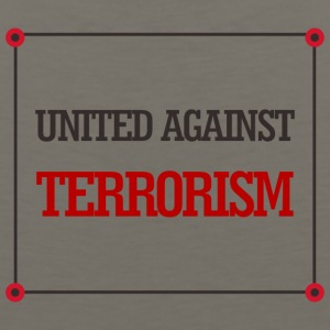 United against terrorism - Men's Premium Tank