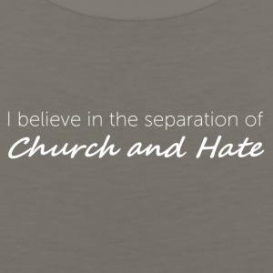 Church and Hate - Men's Premium Tank