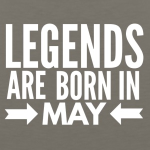 Legends Born May - Men's Premium Tank