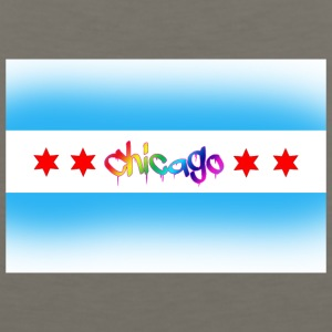Chicago LGBTQ Pride Flag - Men's Premium Tank