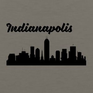 Indianapolis IN Skyline - Men's Premium Tank