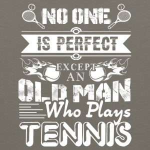 Tennis Old Man Shirt - Men's Premium Tank