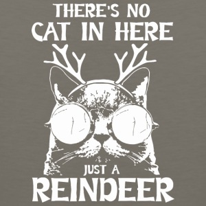 Cat Reindeer Gift Fun - Men's Premium Tank