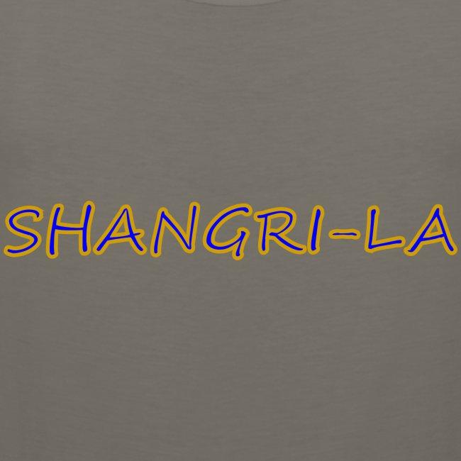 Shangri La gold blue