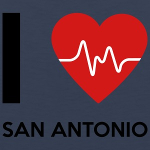 I Love San Antonio - Men's Premium Tank