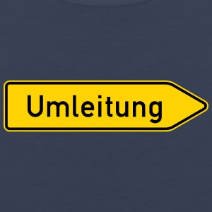 Umleitung Right - German Traffic Sign - Men's Premium Tank