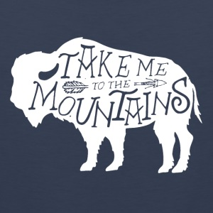 Take Me To The Mountains - Men's Premium Tank