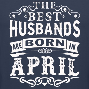 The best husbands are born in April shirt - Men's Premium Tank