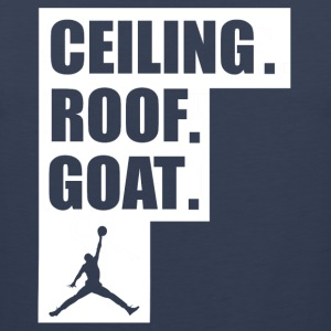 ceiling roof goat shirt - Men's Premium Tank