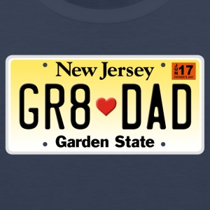 Great Dad - Happy Father's Day - New Jersey - Men's Premium Tank