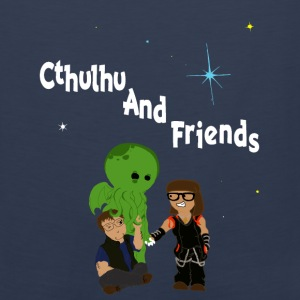 Cthulhu AND friends! - Men's Premium Tank