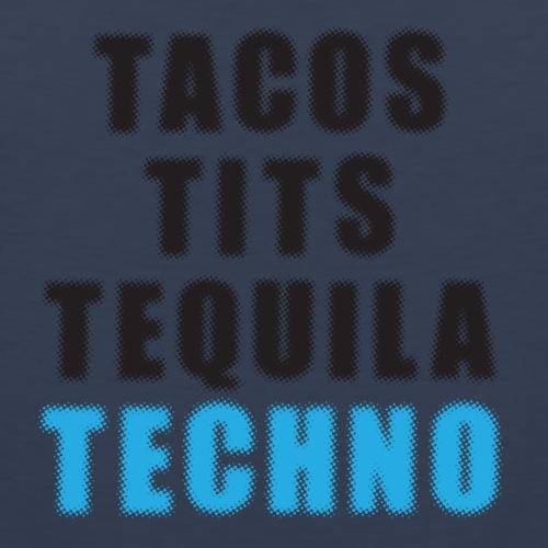 Tacos Tits Tequila Techno - Men's Premium Tank