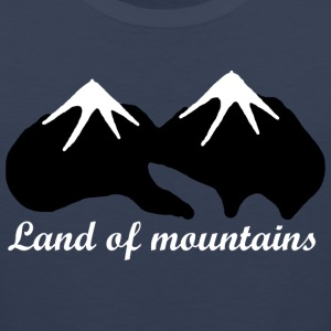 Land of mountains - Men's Premium Tank