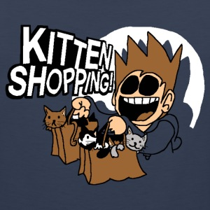 EDDSWORLD KITTEN SHOPPING - Men's Premium Tank