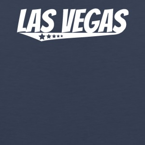 Las Vegas Retro Comic Book Style Logo - Men's Premium Tank