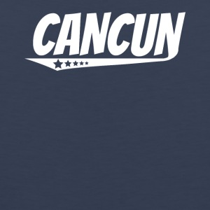 Cancun Retro Comic Book Style Logo - Men's Premium Tank