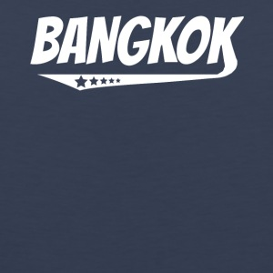Bangkok Retro Comic Book Style Logo - Men's Premium Tank