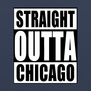 STRAIGHT OUTTA CHICAGO - Men's Premium Tank