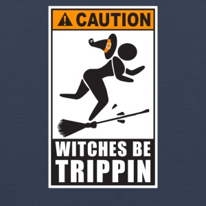 Caution Witches Be Trippin - Men's Premium Tank