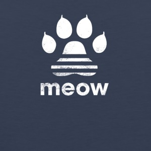 cat meow classic shirt tshirt t shirt - Men's Premium Tank