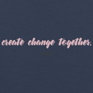 CREATE CHANGE TOGETHER by LIVALTO - Men's Premium Tank